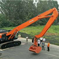 Construction Machinery Spare Parts Excavator Long Reach Boom And Arm
