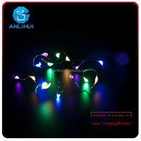 Hot sale Novelty Decoration Colorful Flash LED Braid for Party Holiday