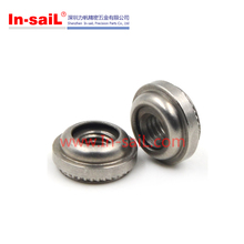 Permanent fasteners self clinching floating nut