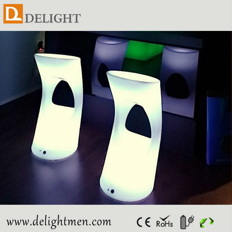 Hot Sale Remote Control RGB Colors Changing Lighting Led Bar Stools Illuminated LED Bar Chairs