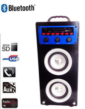 Wholesale portable audio speaker with BLUETOOTH, USB, SD, FM, AUX, DVD, CD