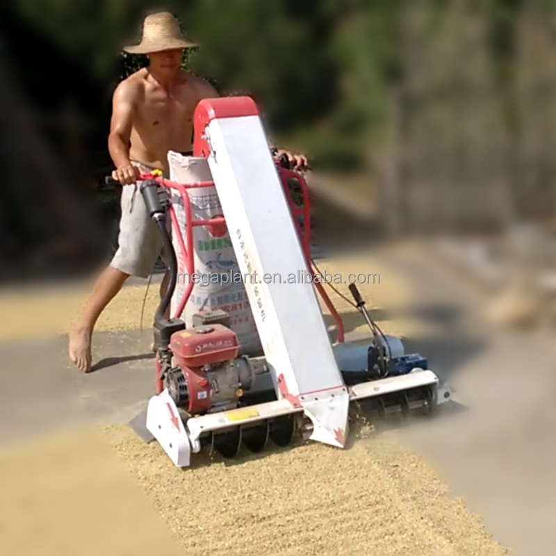 New type farm machinery hand push cereal <strong>rice</strong> collection and bagging machine