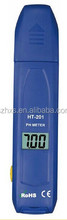 CE&ROHS prove 1000 hours last Pen type PH meter/ph meter factory price HT-201