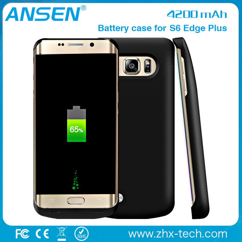 new products 2016 innovative product ideas wirless power case battery charger portable powerbank for samsung galaxy s6 edge plus