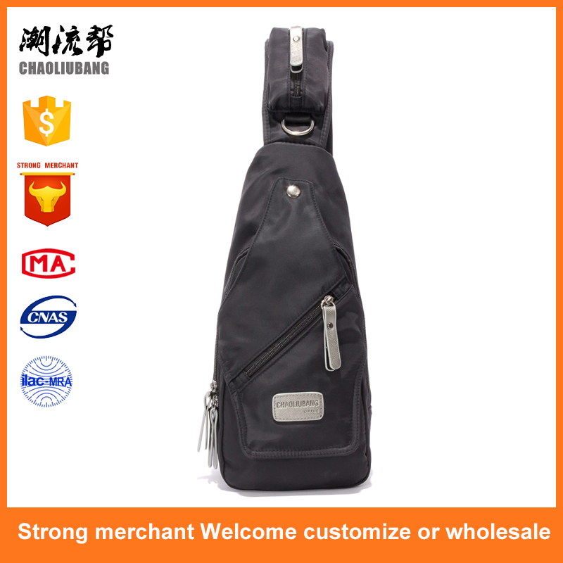 Outdoor Sports Casual Unisex Crossbody Sling Nylon Chest Pack Bag