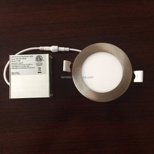 ETL (5004879) CSA approved 4'' 9w 6'' 12w recessed led panel light led home lighting