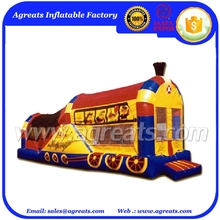 cheap commercial Choo Jump N' Slide jump inflatables bouncer tent with good quality G3076