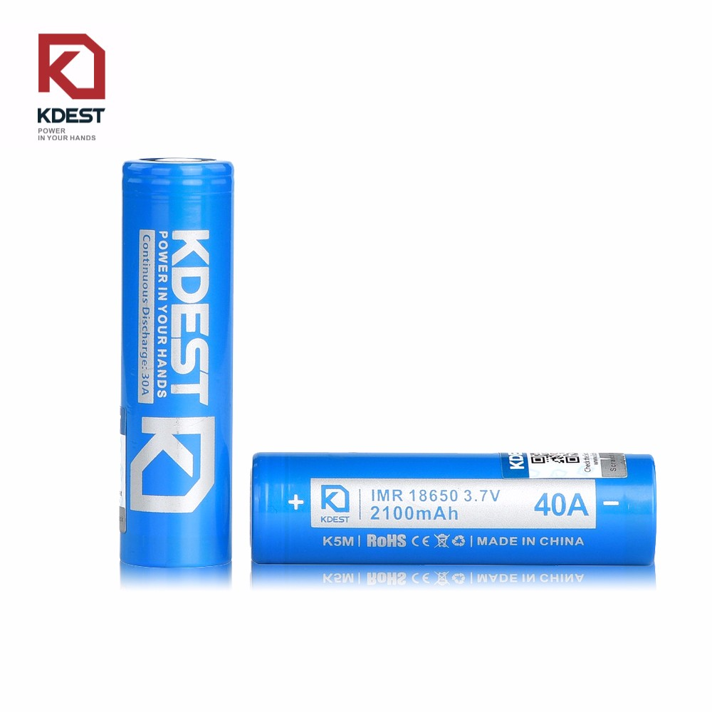 Kdest K5M 2100mAh Deep Cycle rechargeable bright light torch battery wholesale from China
