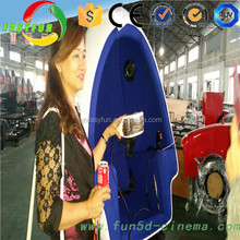 New Business Investment 3 Seats 360 Degree Dynamic VR 3D Glasses 9D Cinema Deluxe Chair 9D Game Machine