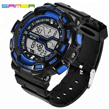 Mens Sports Watches Famous Brand Luxury Men Military Army Watch Digital LED Electronic Waterproof Men Wristwatches Male Clock