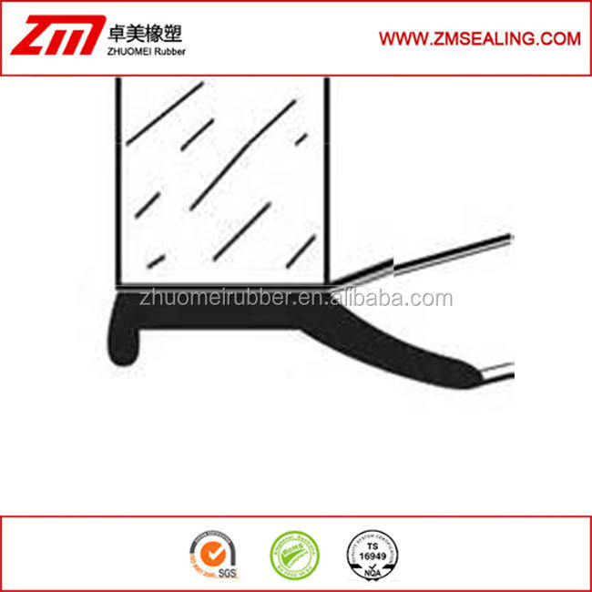 epdm rubber profiles garage door bottom seal buy garage door bottom sealcar door rubber stripgarage door rubber strip product on alibabacom