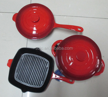 Enamel cookware sets