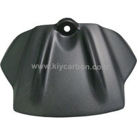 Carbon motorcycle part tank front cover for Aprilia RSV4