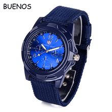 Classic Nylon Weave Mens Sports Wrist Watches Made in China