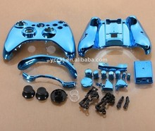 Brand new replaceable shell for xbox 360 controller Shell & Buttons Kit with plating glossy