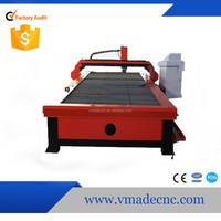 Most precision Jinan CNC 1530 cnc plasma cutting machine for stainless cutting