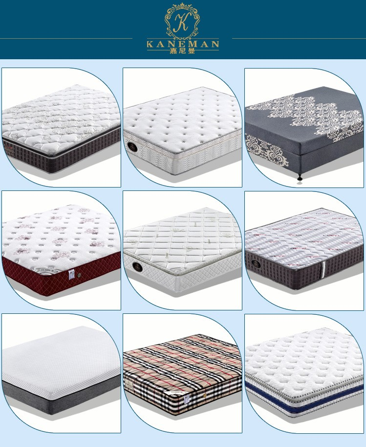 Plush tight top spring mattress vacuum compress in box - Jozy Mattress | Jozy.net