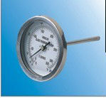 Metal thermometer series MS002 8.5*17.5cm