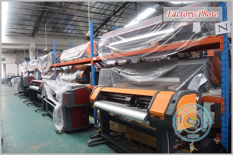 Digital flex banner photo printing machine chinese water transfer film continuous industrial large format inkjet printer price