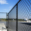Swimming Pool Fence of Diamond Wire Mesh