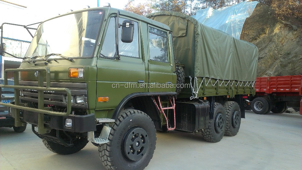EURO 4 6 ton 7 ton 8 ton china hot sale 260hp off-road full wheel drive 4x4 military truck for sales