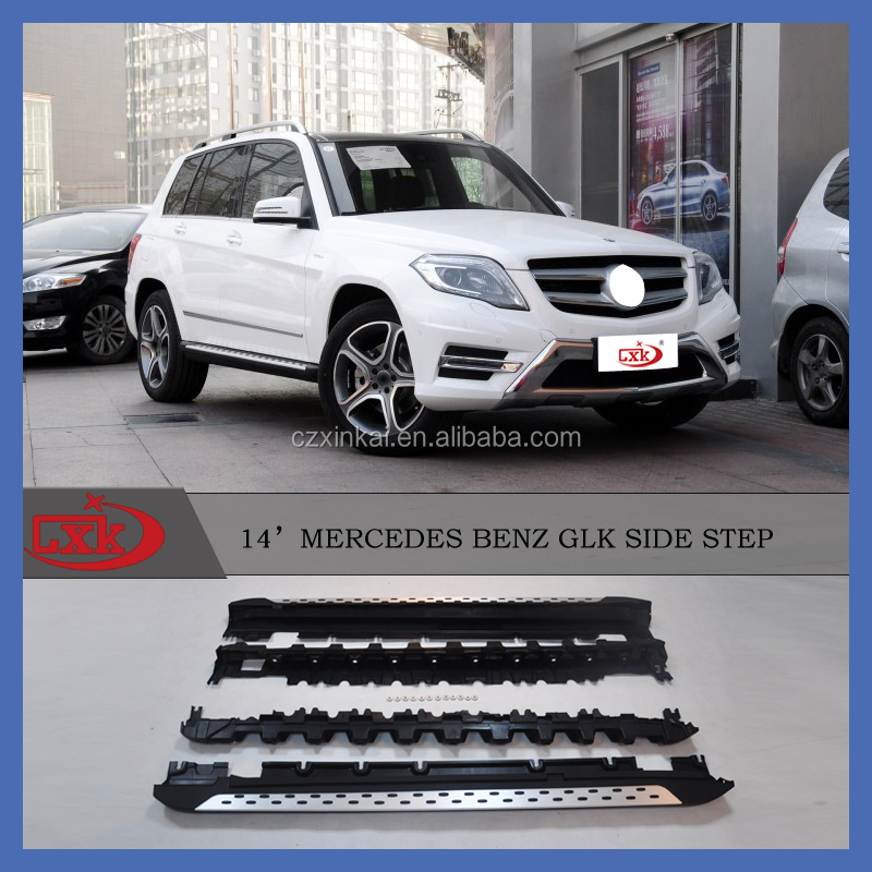 Hot and new high quality OE style side step/running board for GLK 2015+