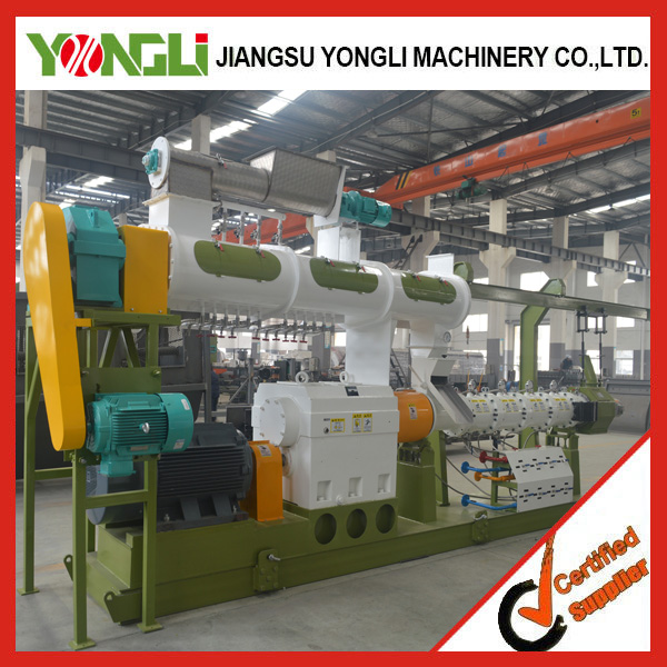 Reliable smoothly dry fish feed machine