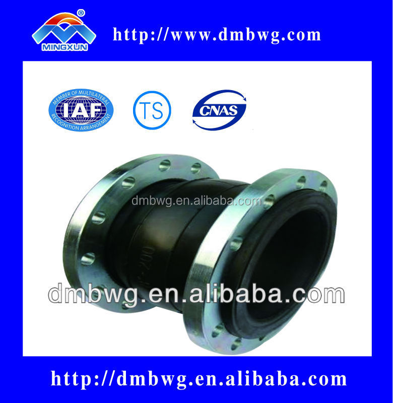 ANSI Single Rubber Flanged Sphere joint