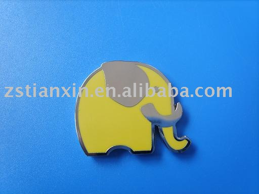elephant metal fridge magnet/animal shape metal fridge magnet/lovely fridge magnets