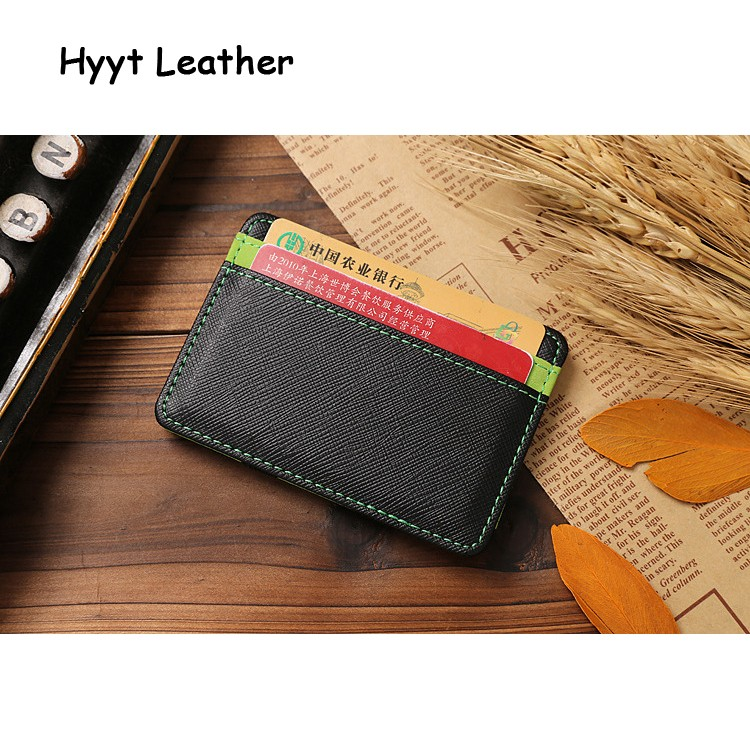 2016 new design US Dollar brand women wallet Mini leather Credit Card ID Holder 5 color protable Money Clip Wallet