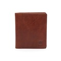 Manufacturer leather slim bifold wallet men short card wallet