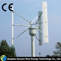 300W maglev Vertical axis wind generator