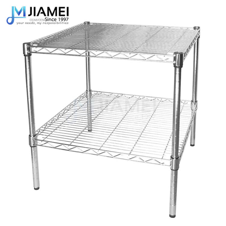 2 Layers Chrome Metal Wire Rack(JSW363636)