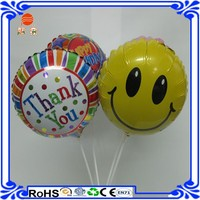emoji balloon foil balloon with high quality balloon for toy inflatable floating advertising