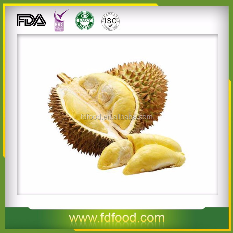 Thailand Durian Snack Freeze Dried Durian Fruit For Sale