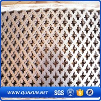 2015 new products long service life building products of perforated metal mesh
