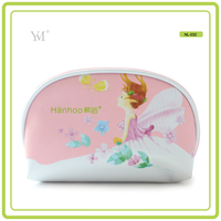 leisure luxury high quality fashion private label pvc cosmetics woman makeup bags cosmetic zipper pouch make up clutch bag