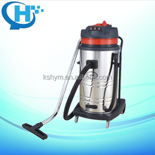 80L 3motors Stainless Steel Tank Orange Color electric stick industrial Wet Dry Vacuum Cleaner