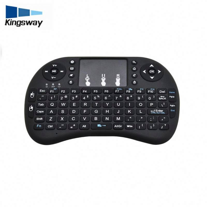 2018 New Hot 2.4G I8 Mini Wireless Keyboard Touch Pad Mouse Gaming Keyboard For Htpc Tablet Laptop Pc