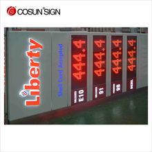 Curved Aluminium Upright Pylon Sign