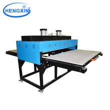 Large pressure heat press machine for leather