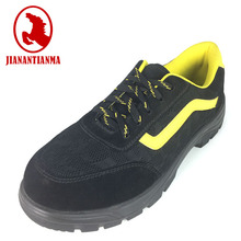 Custom black steel safety shoes safety shoes in Italy