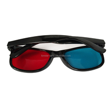 OEM Christmas gift red blue 3d universal glasses for 3D movies