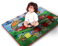 Soft Easy Cleaning eco-friendly Outdoor Rubber Play Mats