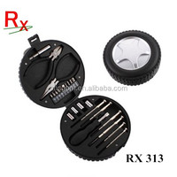 24pcs Gift Tyre Shape Tool Set