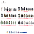 fengshangmei nail art beautiful nails eco-friendly acrylic nail tips pre painted false nails
