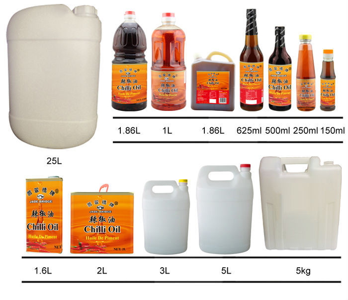 China bulk chili oil / cooking oil