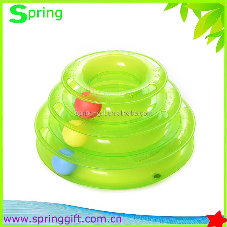 new design sound Pet toys round ball Crazy cat toy