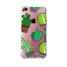customized cactus soft silicone uv print <strong>mobile</strong> phone case for iphone 6 6s