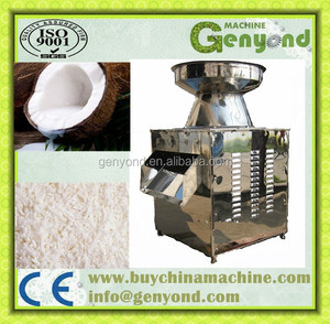 Commercial coconut meat mill / coconut grinding machine
